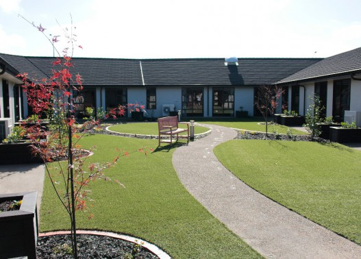project Glaisdale Radius Residential Care hamilton outdoor area
