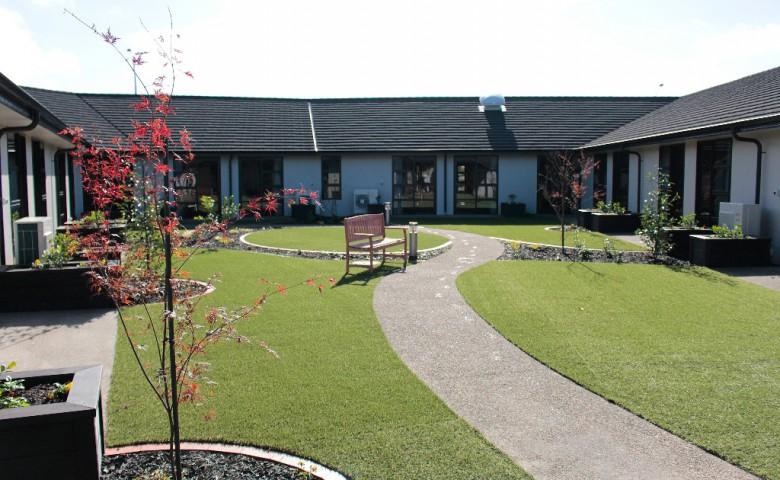 project Glaisdale Radius Residential Care hamilton outdoor area