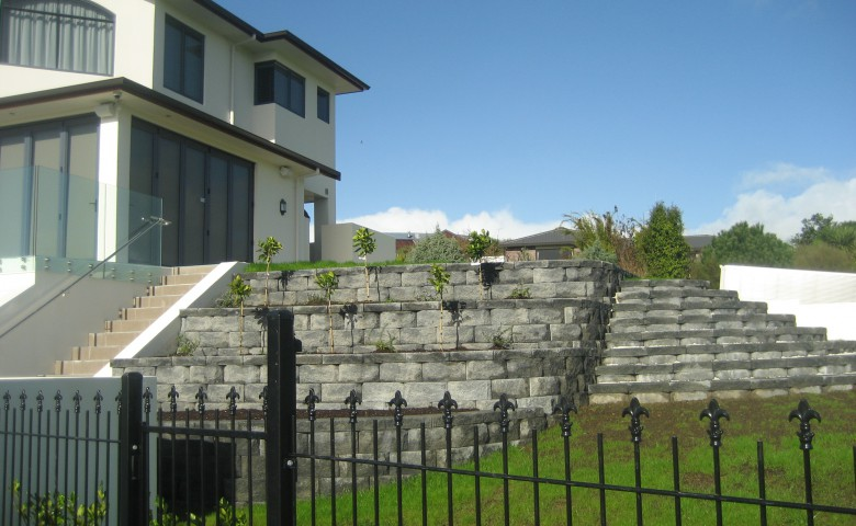 Compliance and Completion of New Dwelling garden
