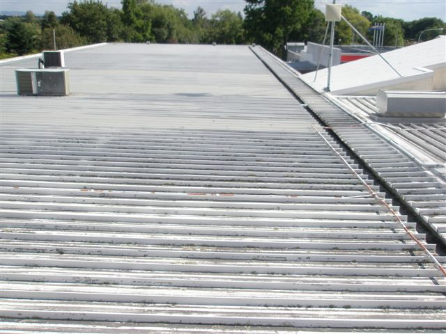 fit-for-purpose overlay solution for Matamata Piako District Council's grey roof