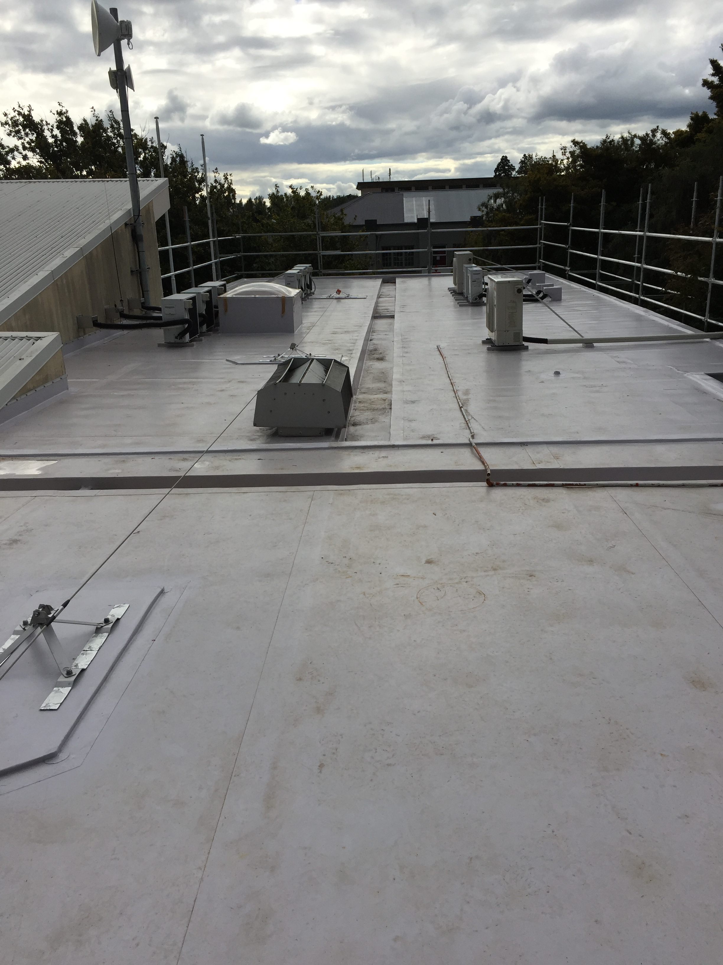 North - Building remained a safe working environment, weather-tight and fully operational