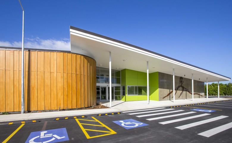 Te Aroha Event Centre entry