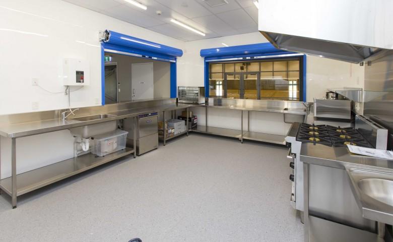 Te Aroha Event Centre kitchen