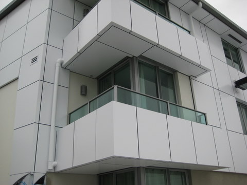 completed water tight cutters cove balconies project managed by IPMS