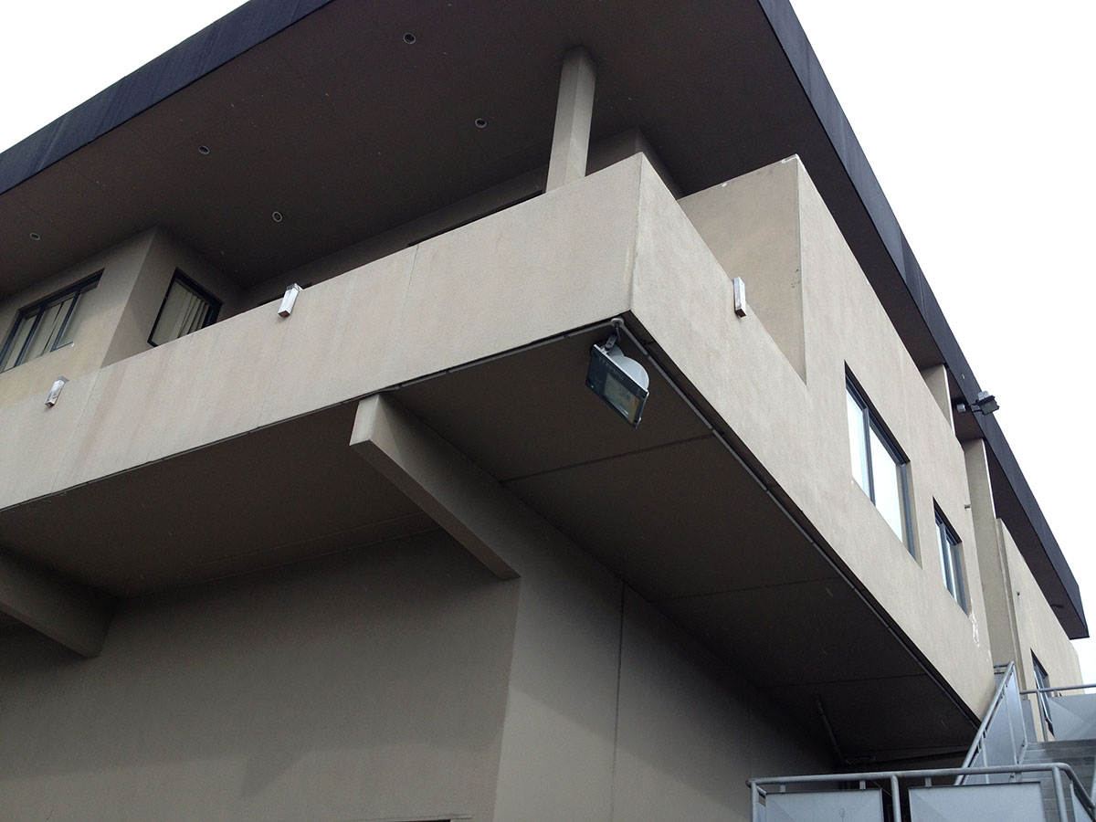 Pre-construction / Remediation - Existing textured fibre cement cladding