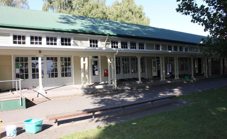 Matamata Primary school external view