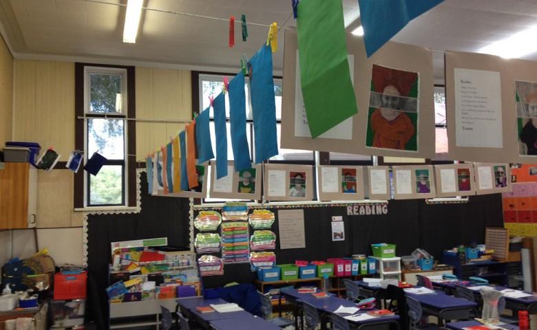 Internal view of Matamata primary school building upgrades