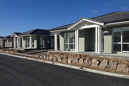 Pacific Coast Retirement Village roading design