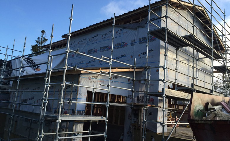 High-end Residential Build – Bay of Plenty scaffolding IPMS