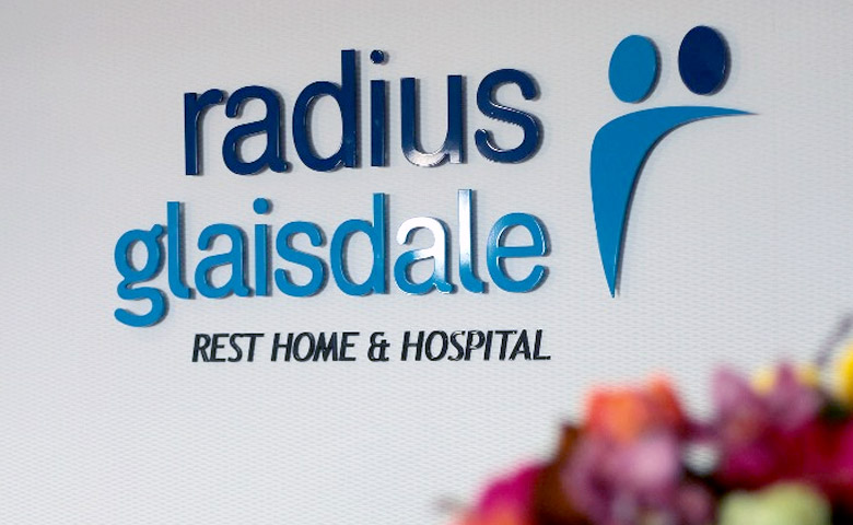 project Glaisdale Radius Residential Care hamilton sign